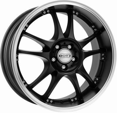 Dotz Brands Hatch dark 8x18 rozteč 5x100 ET32